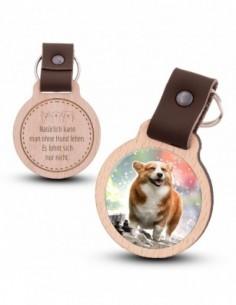 Fotoschlüsselanhänger / Hund