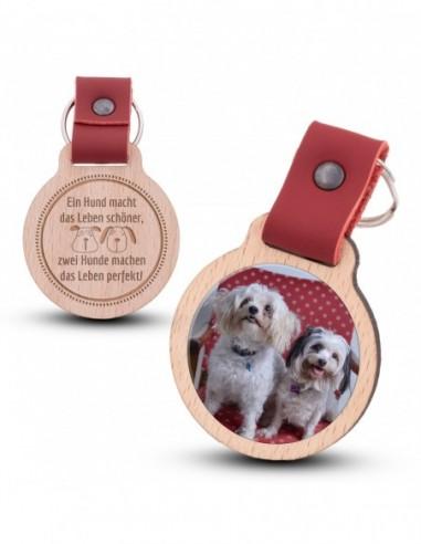 Fotoschlüsselanhänger / Hunde machen...