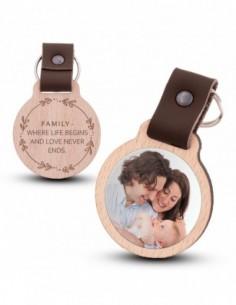 Photo keychain / Family