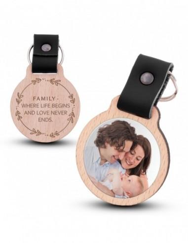 Fotoschlüsselanhänger / Family