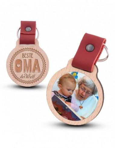 Photo keychain / Beste Oma der Welt