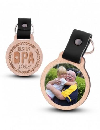 Fotoschlüsselanhänger / Bester Opa...