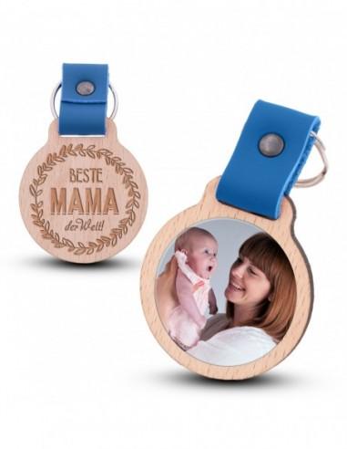 Fotoschlüsselanhänger / Beste Mama...