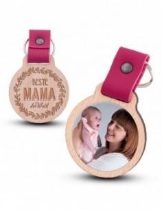 Photo keychain / Beste Mama...