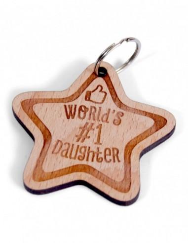 """Schlüsselanhänger """"Worlds daughter Nr.1"""""""