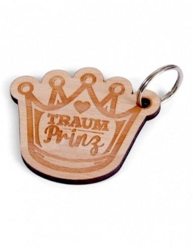 """Schlüsselanhänger """"Traumprinz Krone"""""""