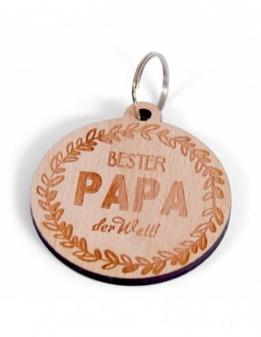"Schlüsselanhänger ""Bester Papa"""