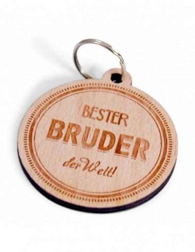 "Schlüsselanhänger ""Bester Bruder"""
