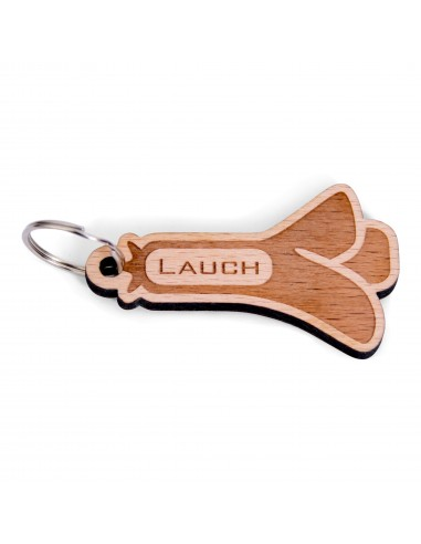 Lauch Anhänger aus Holz
