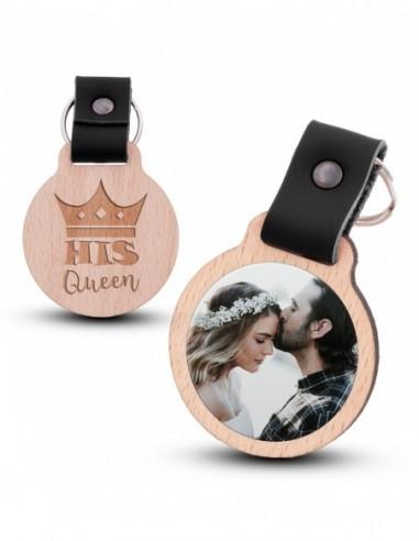 Fotoschlüsselanhänger / His Queen