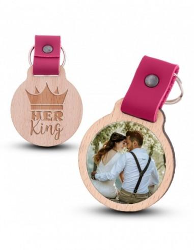 Fotoschlüsselanhänger / Her King